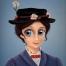 Ilustración Mary Poppins