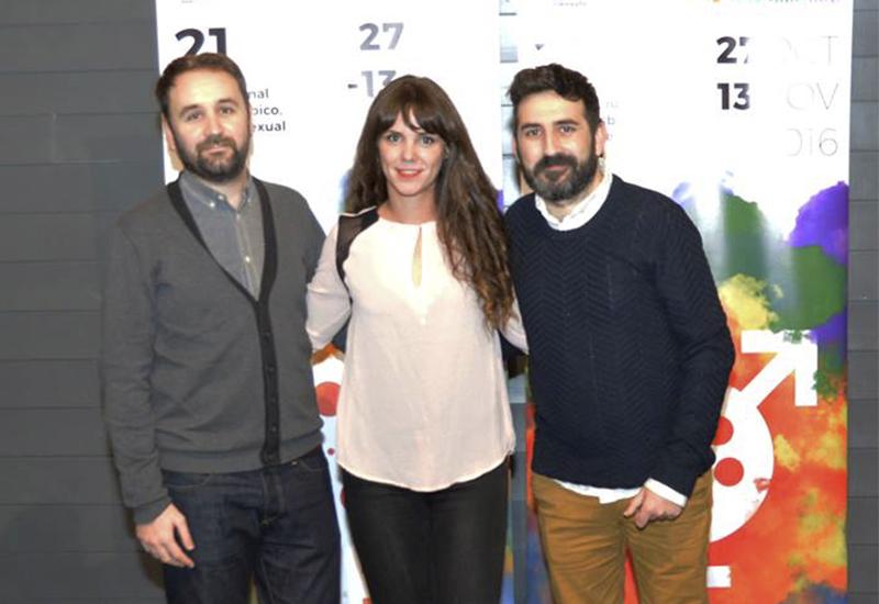 Daniel Sánchez del Rey, Rocío Alzueta y Antonio Ufarte en Cineteca Matadero