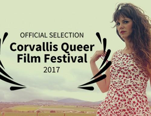 """""""Tras la piel"""" seleccionado en el """"Corvallis Queer Film Festival"""" de Oregón, Estados Unidos"""