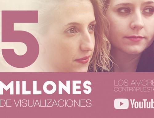 """""""Los amores contrapuestos"""" supera los 5 millones de visualizaciones en YouTube"""